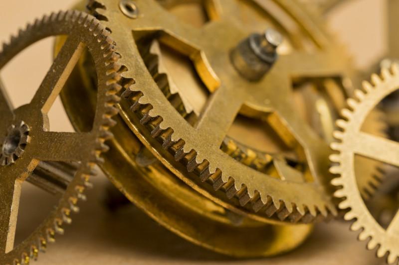 Tandwielen horloge 1